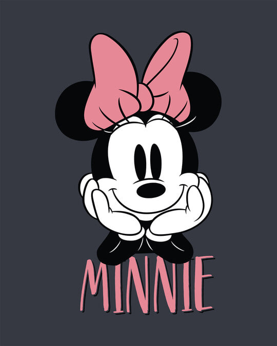 Shop Cute Minnie Boyfriend T-Shirt (DL)