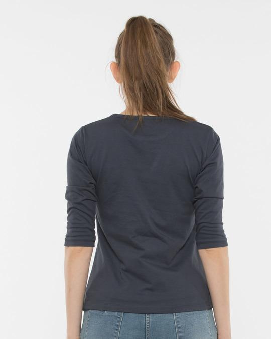 Shop Cute Minnie Round Neck 3/4th Sleeve T-Shirt (DL)-Design