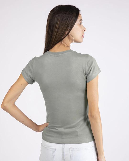 Shop Cute Pawsitive Half Sleeve T-shirt-Design