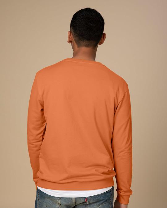 Shop Da Heck? Crew Neck Sweatshirt-Back