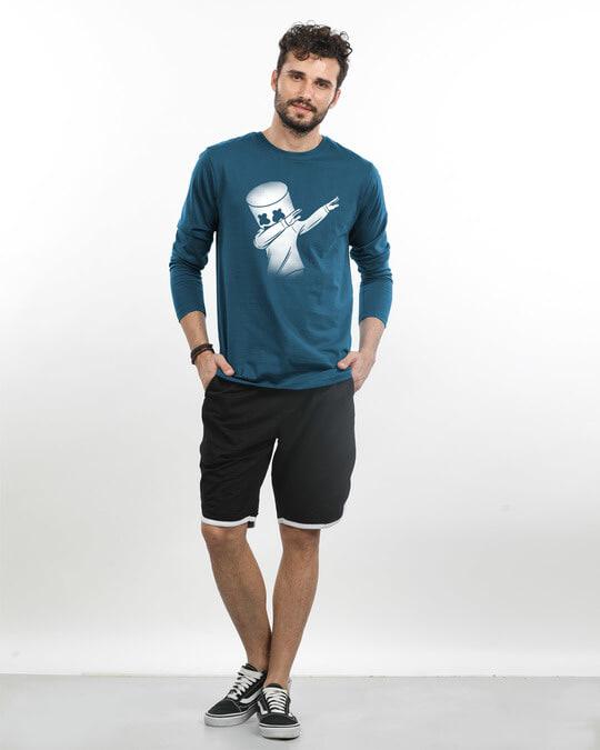Shop Dab Marshmello Full Sleeve T-Shirt