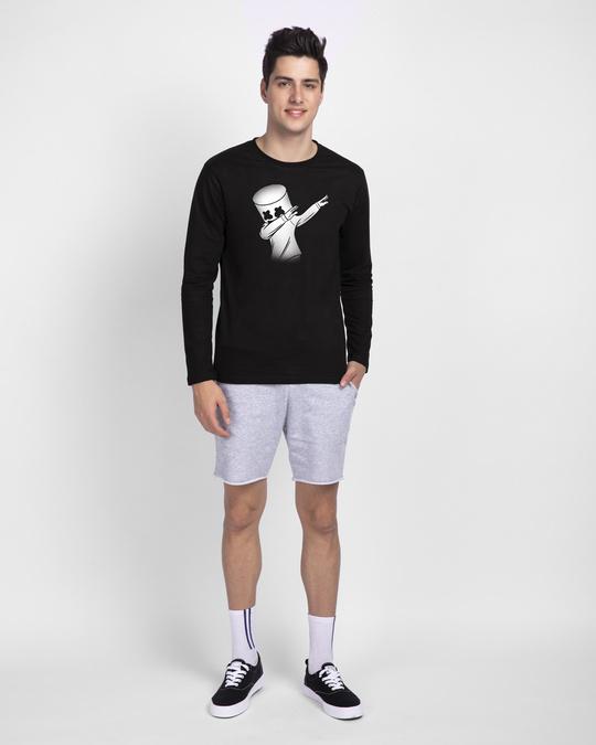 Shop Dab Marshmello Full Sleeve T-Shirt-Full
