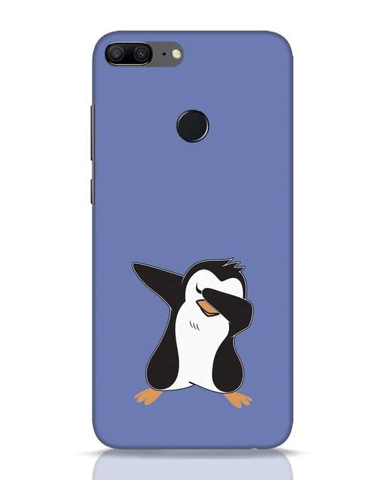 Shop Dab Penguin Huawei Honor 9 Lite Mobile Cover-Front