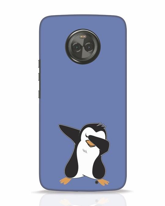 Shop Dab Penguin Moto X4 Mobile Cover-Front