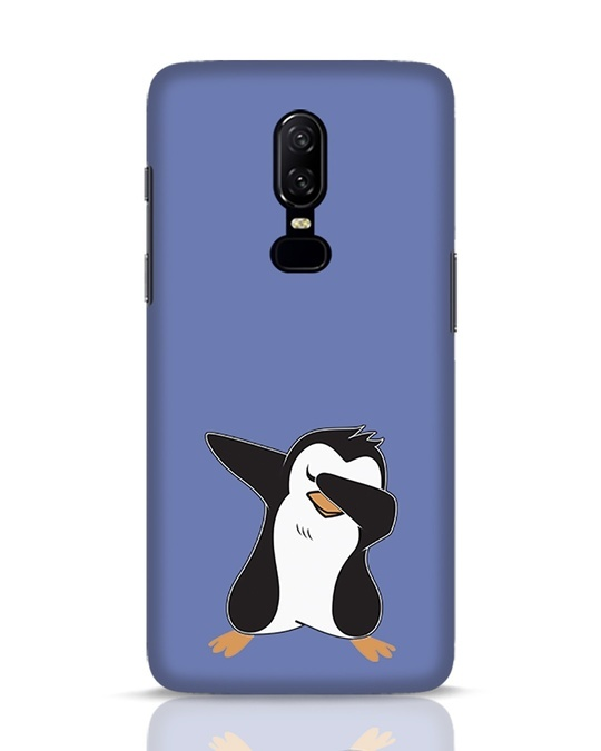 Shop Dab Penguin OnePlus 6 Mobile Cover-Front