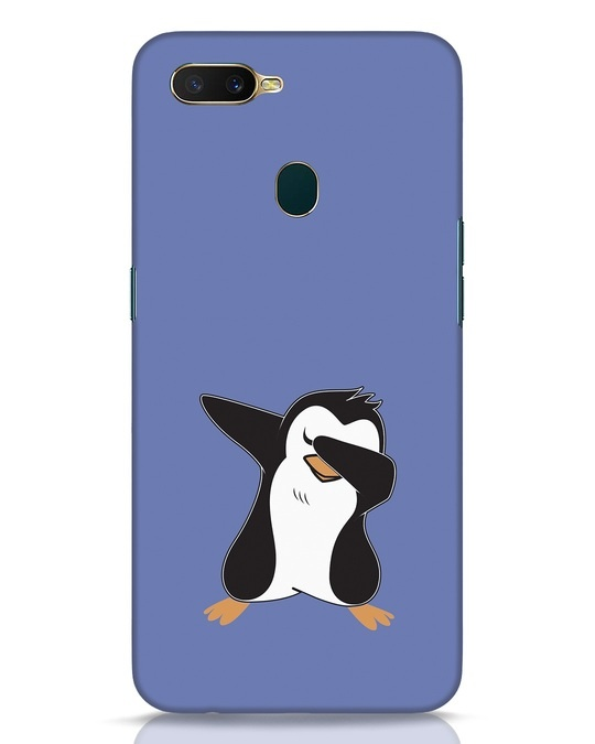 Shop Dab Penguin Oppo A7 Mobile Cover-Front