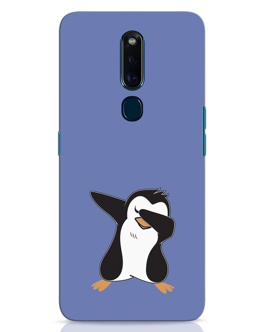 Shop Dab Penguin Oppo F11 Pro Mobile Cover-Front