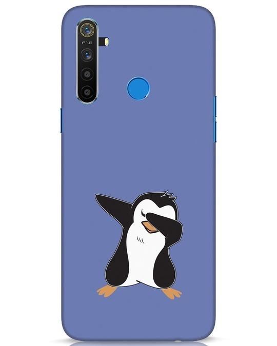 Shop Dab Penguin Realme 5 Mobile Cover-Front