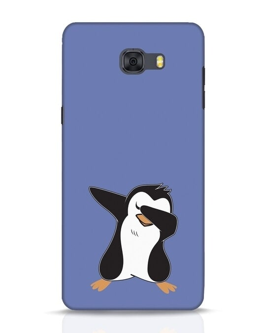 Shop Dab Penguin Samsung Galaxy C9 Pro Mobile Cover-Front
