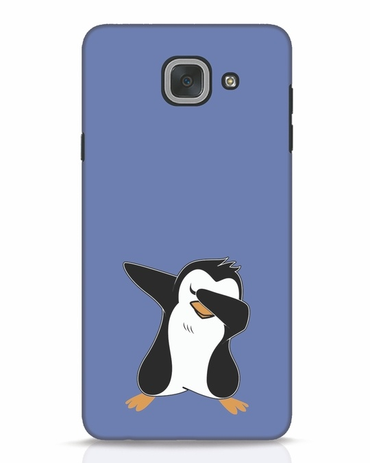 Shop Dab Penguin Samsung Galaxy J7 Max Mobile Cover-Front