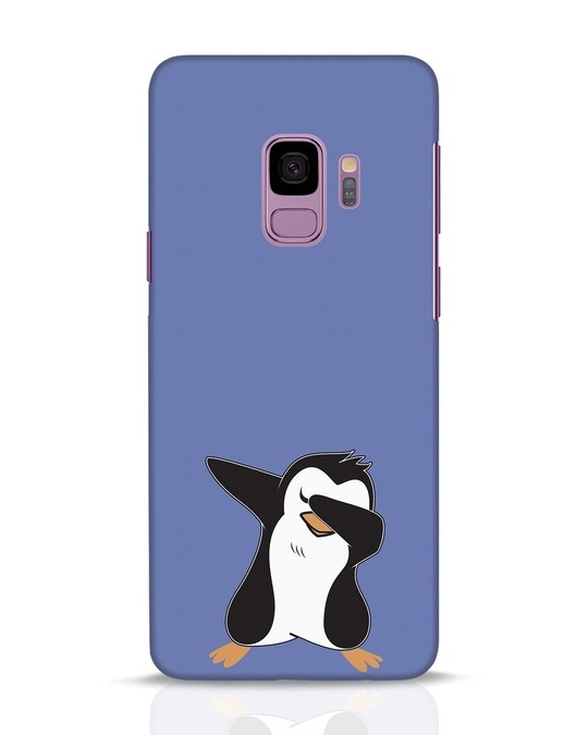 Shop Dab Penguin Samsung Galaxy S9 Mobile Cover-Front