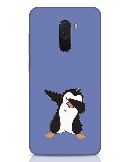 Shop Dab Penguin Xiaomi POCO F1 Mobile Cover-Front