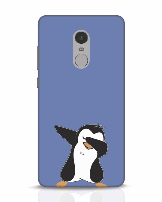 Shop Dab Penguin Xiaomi Redmi Note 4 Mobile Cover-Front