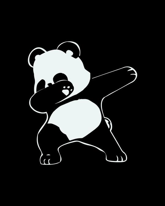 Shop Dabbing Panda Boyfriend T-Shirt