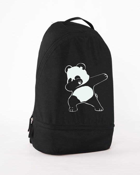 Shop Dabbing Panda Small Backpack-Back