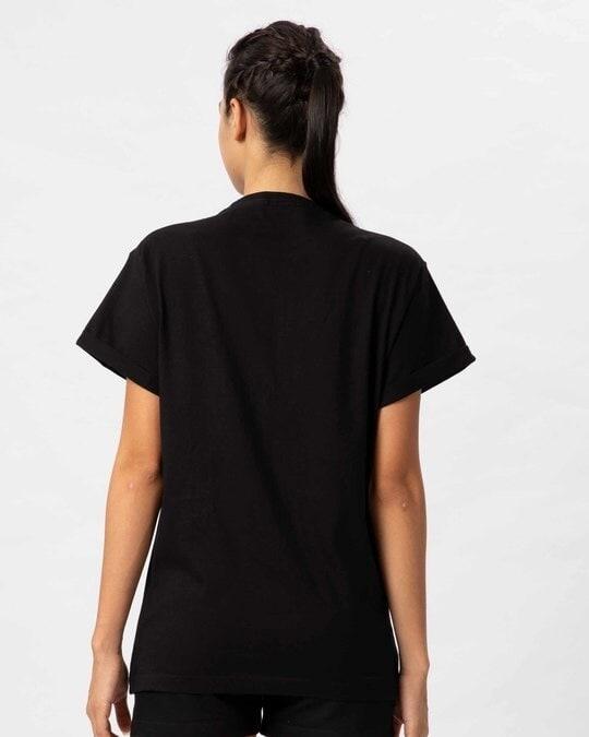Shop Dabbing Retriever Boyfriend T-Shirt-Full