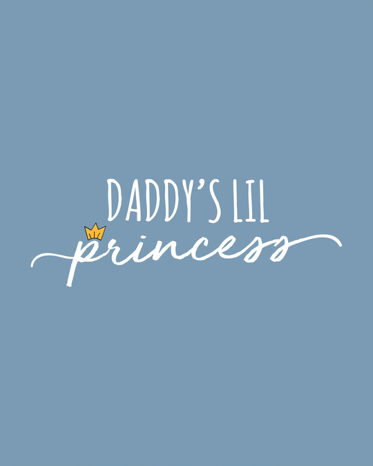 Shop Daddy's Lil Princess Boyfriend T-Shirt