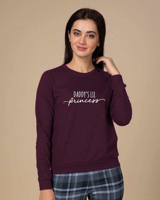 Shop Daddy's Lil Princess Sweatshirt-Front