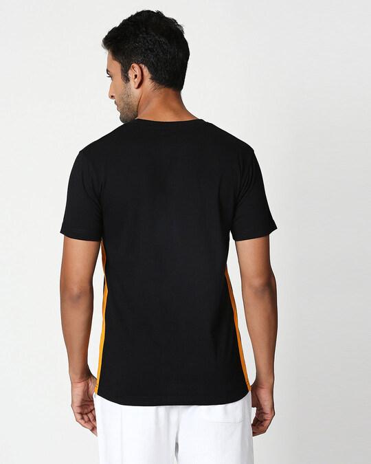 Shop Daffy Awesome Contrast Side Seam T-Shirt (LTL)-Back