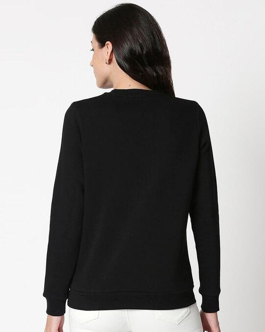 Shop Daffy Awesome Fleece Sweater-Back