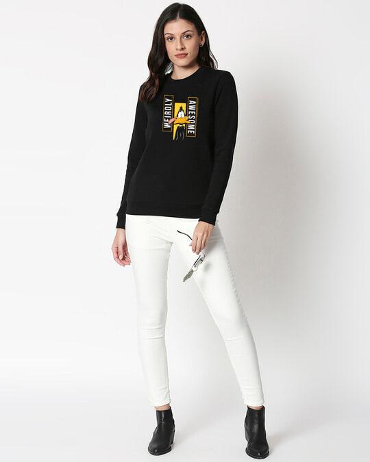Shop Daffy Awesome Fleece Sweater-Design