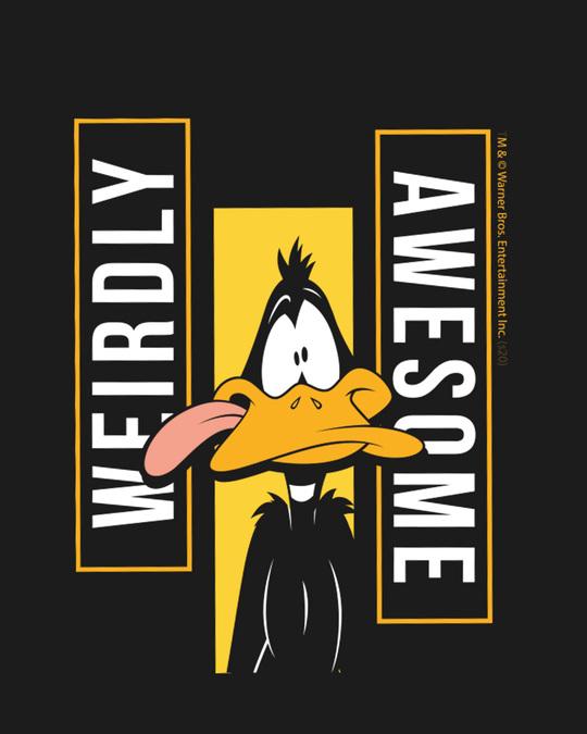 Shop Daffy Awesome Half Sleeve T-Shirt (LTL)-Full