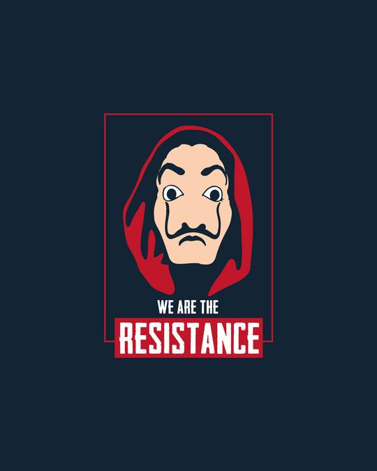 Shop Dali Resistance Full Sleeve T-Shirt Navy Blue-Full
