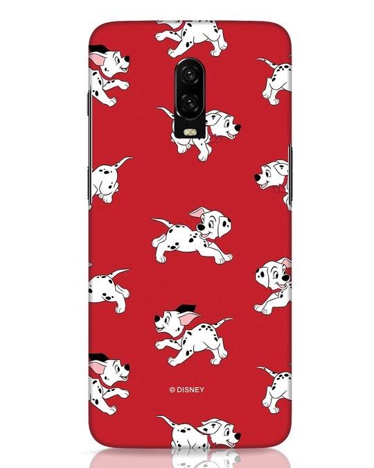 Shop Dalmatians OnePlus 6T Mobile Cover (DL)-Front