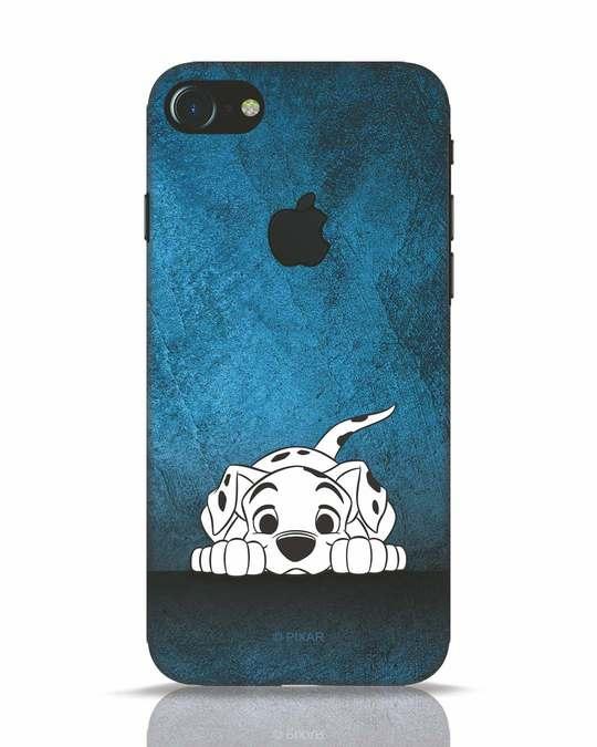 Shop Dalmation iPhone 7 Logo Cut Mobile Cover (DL)-Front