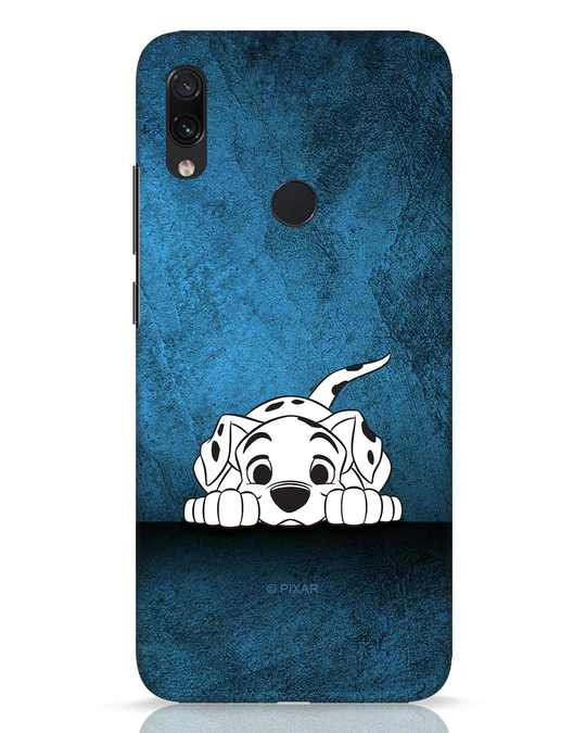 Shop Dalmation Xiaomi Redmi Note 7 Pro Mobile Cover (DL)-Front