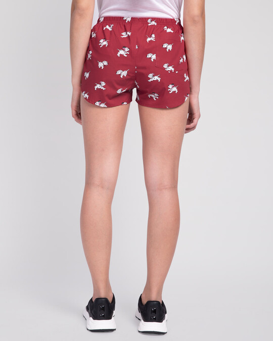Shop Dalmations Play All Over Printed Boxer (DL)-Design