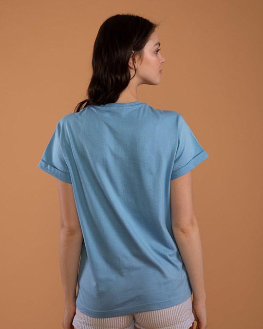 Shop Dandelion Fly High Boyfriend T-Shirt-Back
