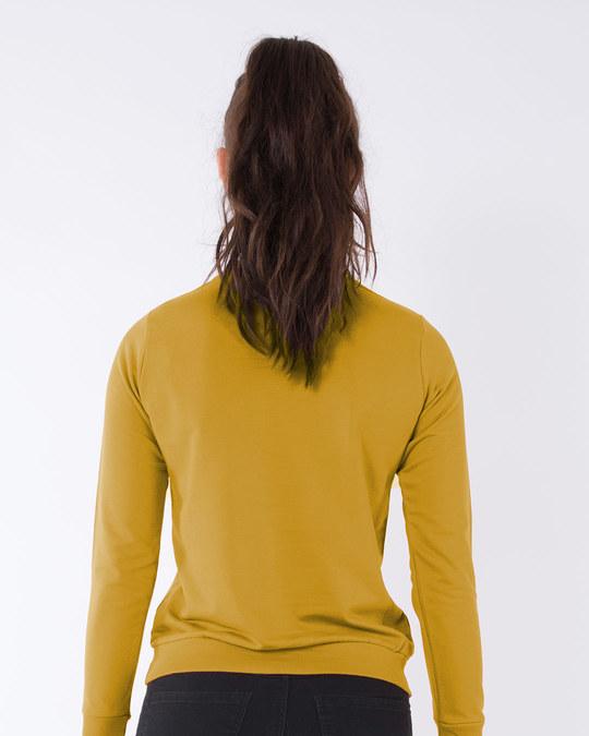 Shop Dandelion Fly High Fleece Sweater-Back