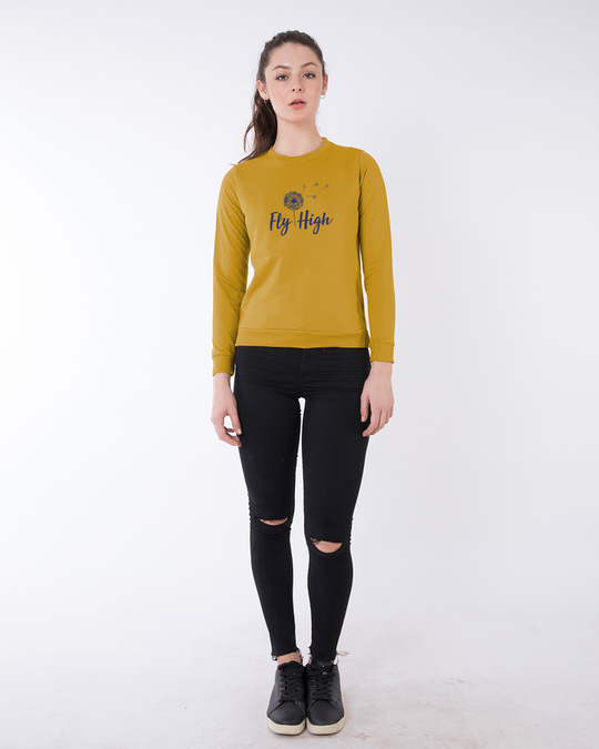 Shop Dandelion Fly High Fleece Sweater-Design