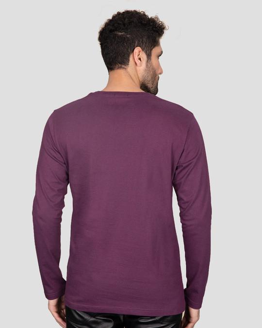 Shop Dandiya Night Full Sleeve T-Shirt Deep Purple-Design