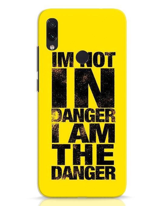 Shop Danger Xiaomi Redmi Note 7 Mobile Cover-Front