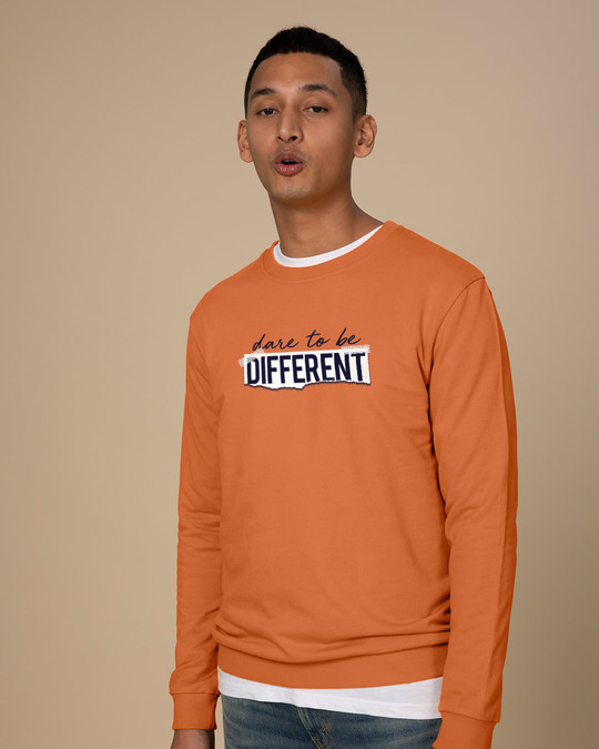 Shop Dare To Be Different Sweatshirt-Back