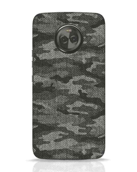 Shop Dark Camo Moto X4 Mobile Cover-Front