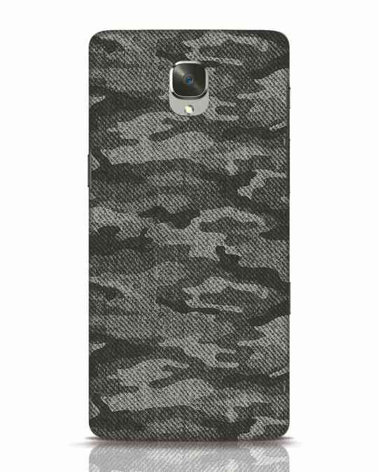 Shop Dark Camo OnePlus 3T Mobile Cover-Front