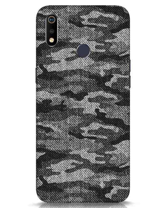 Shop Dark Camo Realme 3i Mobile Cover-Front