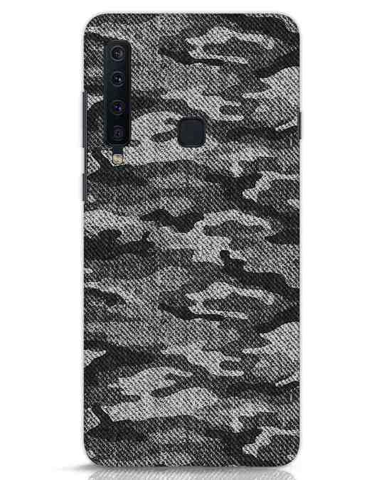 Shop Dark Camo Samsung Galaxy A9 2018 Mobile Cover-Front