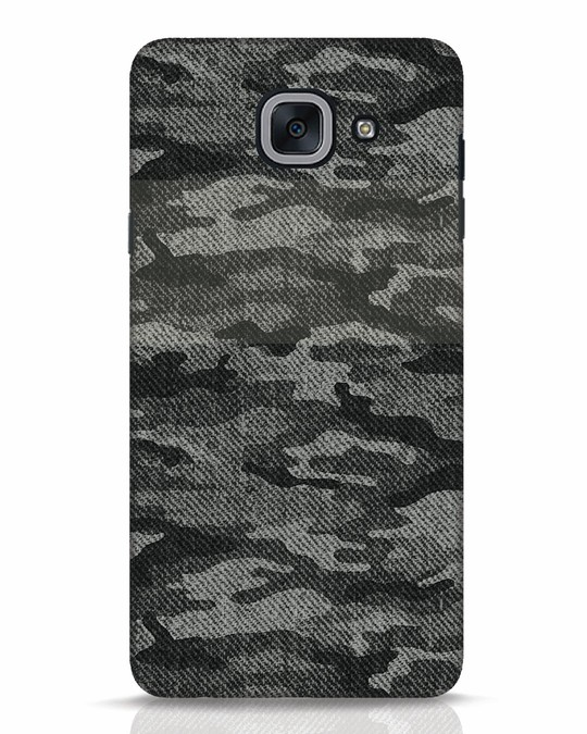 sale retailer d7058 a21de Dark Camo Samsung Galaxy J7 Max Mobile Cover