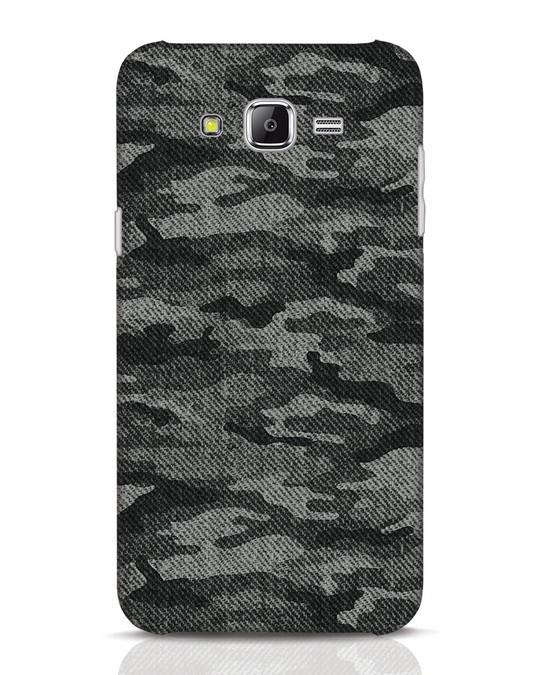 Shop Dark Camo Samsung Galaxy J7 Mobile Cover-Front