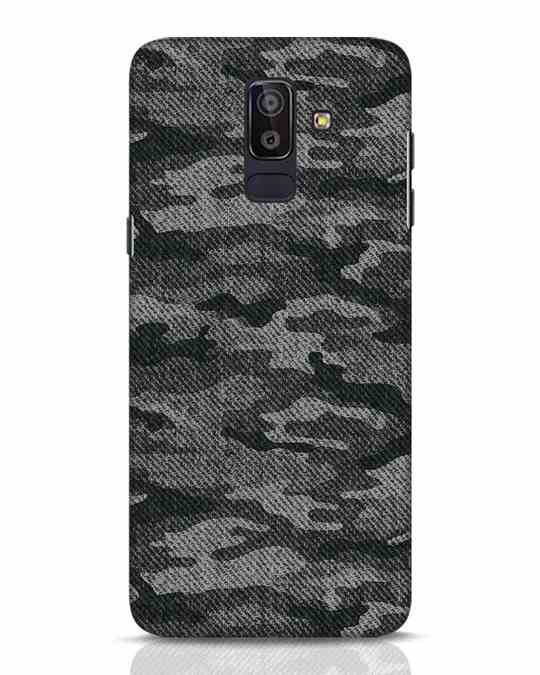 Shop Dark Camo Samsung Galaxy J8 Mobile Cover-Front