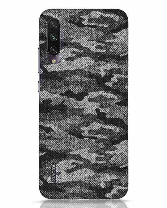 Shop Dark Camo Xiaomi Mi A3 Mobile Cover-Front