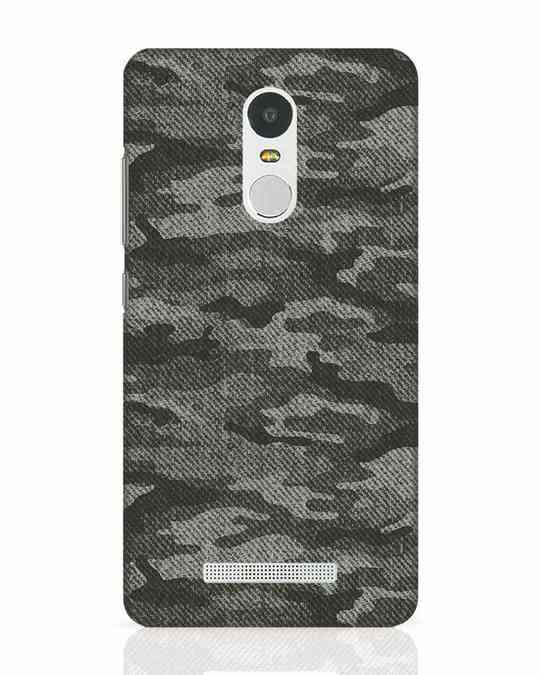 Shop Dark Camo Xiaomi Redmi Note 3 Mobile Cover-Front
