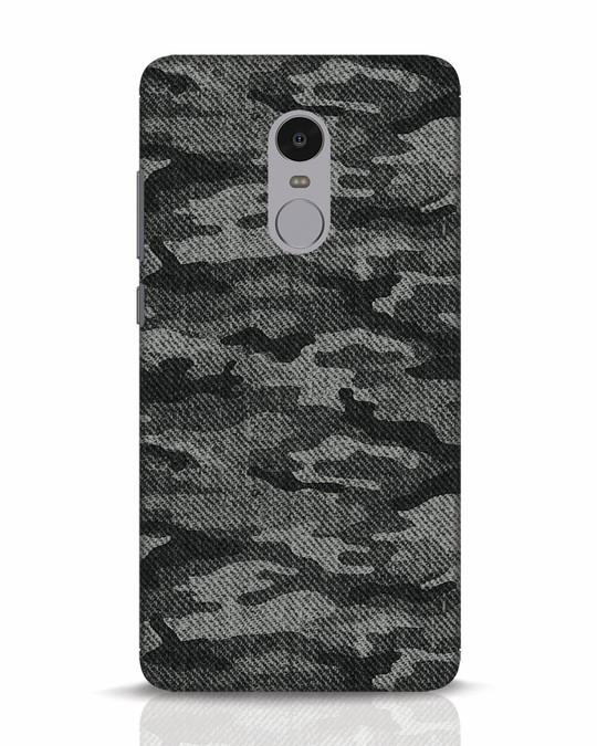 foto ufficiali bde10 33fcf Dark Camo Xiaomi Redmi Note 4 Mobile Cover
