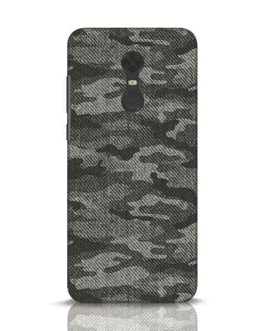Shop Dark Camo Xiaomi Redmi Note 5 Mobile Cover-Front