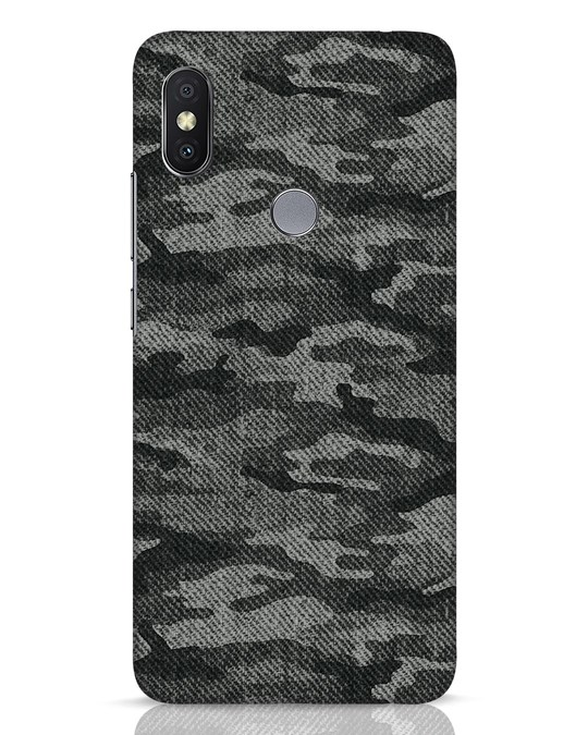 Shop Dark Camo Xiaomi Redmi Y2 Mobile Cover-Front