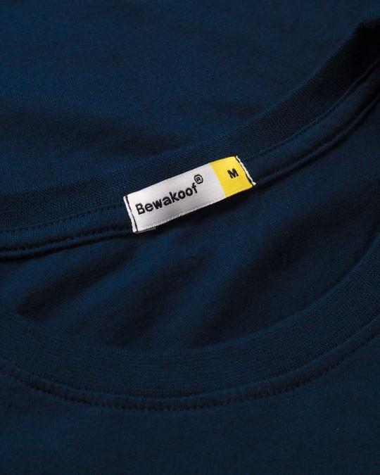 Shop Dark Captain America Half Sleeve T-Shirt (AVL)
